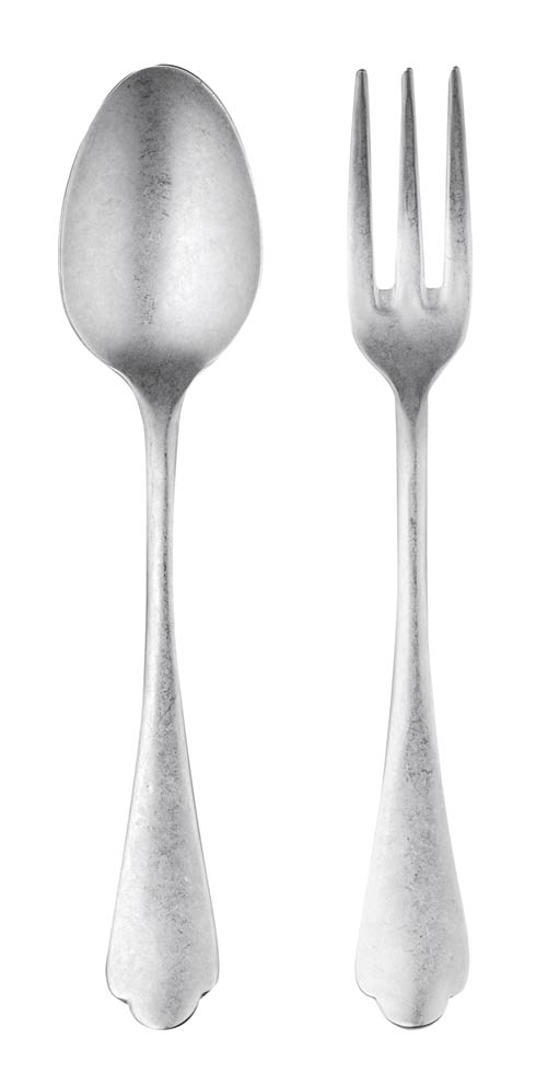 $70.00 Serving Set (Fork And Spoon)