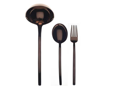 3 Pcs Serving Set (Fork Spoon And Ladle)