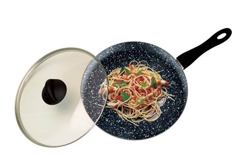 $165.00 Wok Black Whith Lid