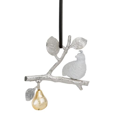 $55.00 Partridge In A Pear Tree Ornament