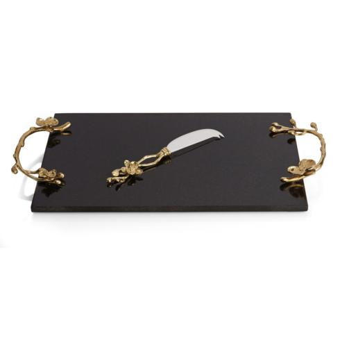 Michael Aram  Golden Orchid Cheese Board $200.00