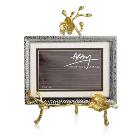 Michael Aram  Golden Orchid Easel Frame $150.00