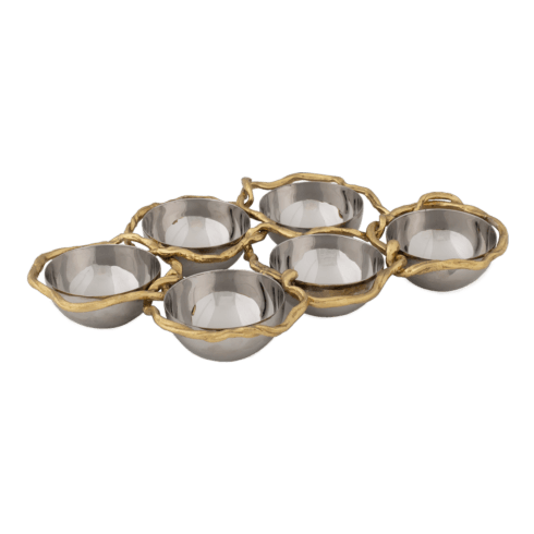$275.00 6-Compartment Plate
