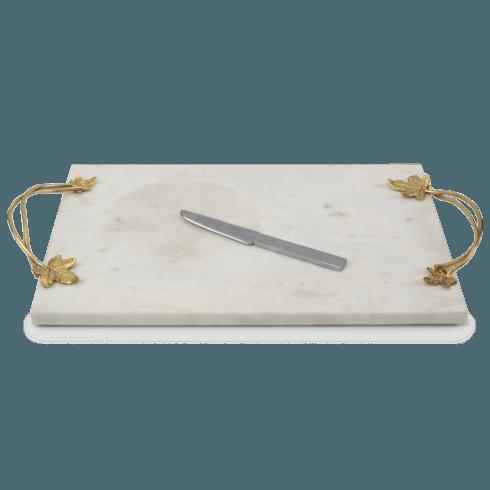 Michael Aram  Ivy & Oak  Cheese Board w/ Knife  $200.00