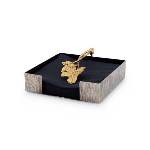 Michael Aram  Ivy & Oak  Cocktail Napkin Holder  $75.00