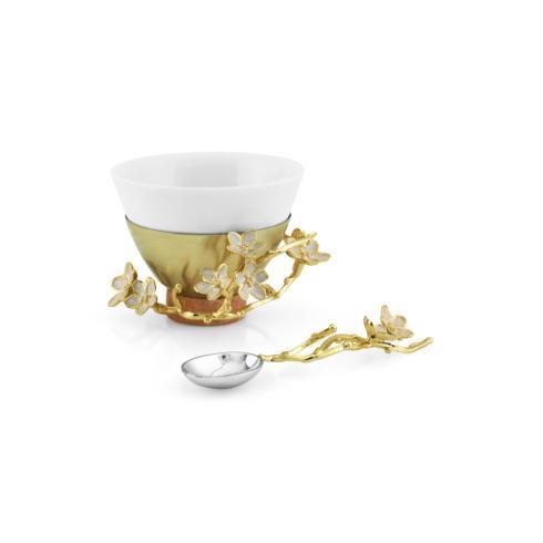 $135.00 Porcelain Small Bowl w/ Spoon