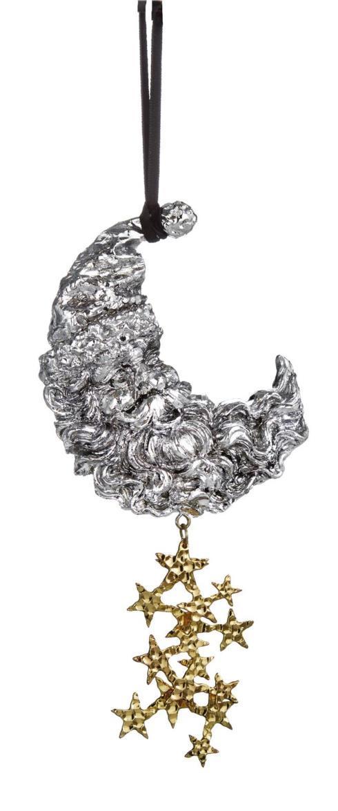 $65.00 Santa Moon Ornament