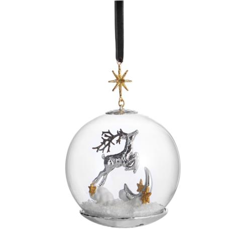 $80.00 Reindeer Snow Globe