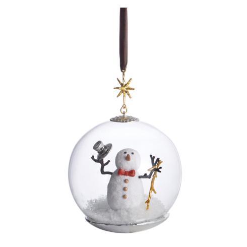 $80.00 Snowman Snow Globe