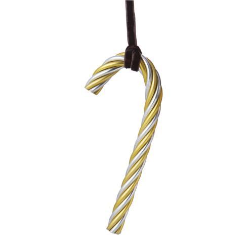 $25.00 Twist Candy Cane - Gold