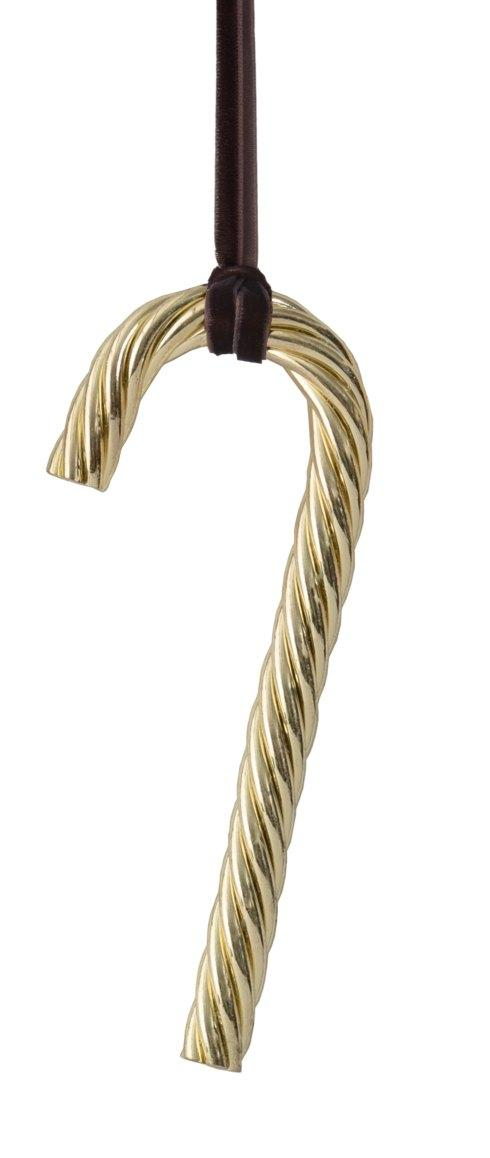 $25.00 Candy Cane Gold Ornament