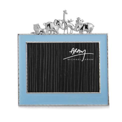 $125.00 Animals 5x7 Frame Blue Enamel