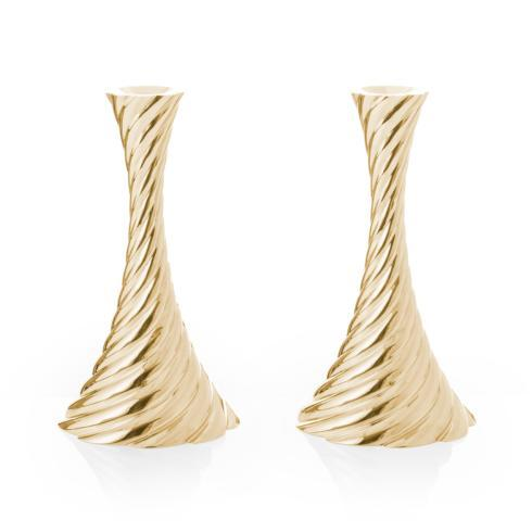 $275.00 Candleholders (Set of 2) Gold