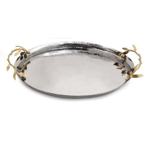 Michael Aram  Olive Branch Oval Serving Tray  $295.00