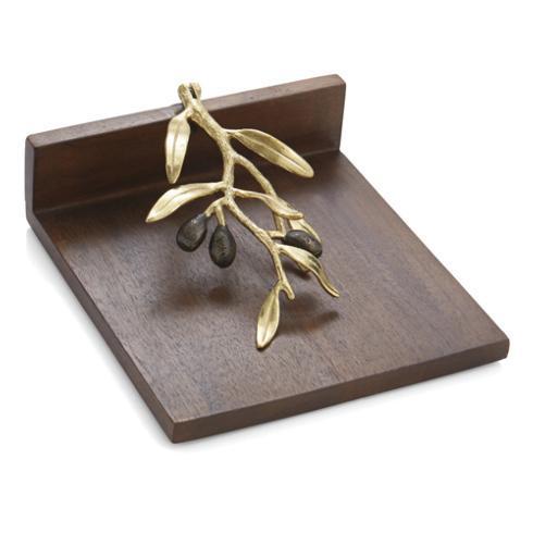Michael Aram  Olive Branch Dinner Napkin Holder  $75.00