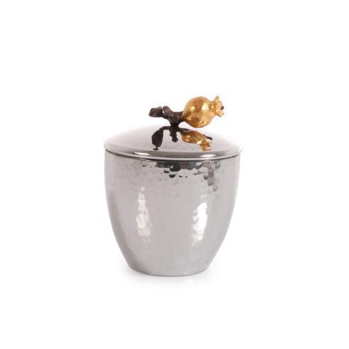Michael Aram  Pomegranate Sugar Pot w/ Spoon  $100.00