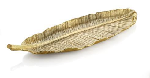 Michael Aram  New Leaves Banana Leaf Large Platter $295.00