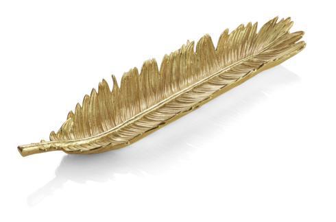 Michael Aram  New Leaves Sago Palm Bread Plate $130.00
