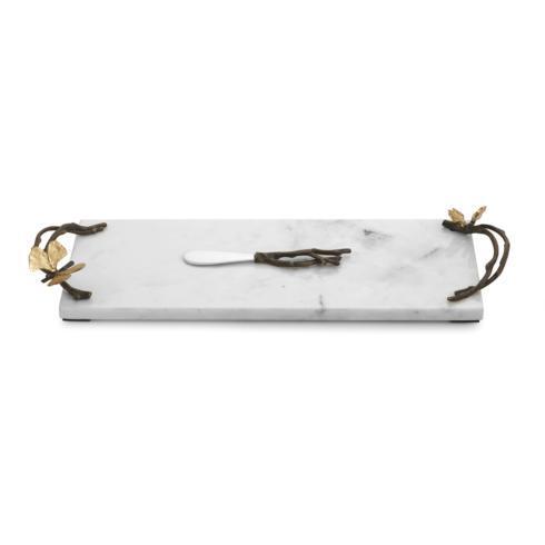 Michael Aram  Butterfly Ginkgo Small Cheese Board w/ Knife $135.00