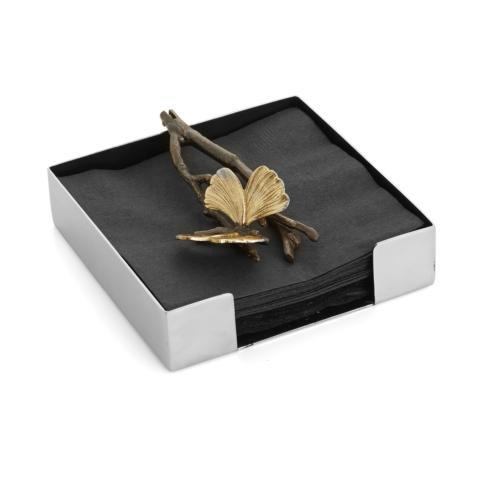 Michael Aram  Butterfly Ginkgo Cocktail Napkin Holder  $65.00