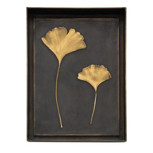 $395.00 Ginkgo Leaf Shadow Box