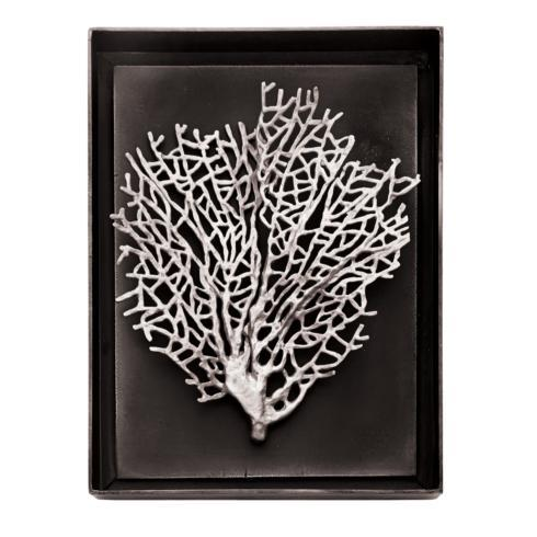 $395.00 Fan Coral Shadow Box Antique Nickel