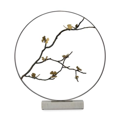 "$2,500.00 Butterfly Ginkgo 36"" Moon Gate Sculpture"