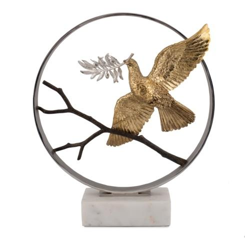 "$1,500.00 Dove 14"" Moon Gate Sculpture"
