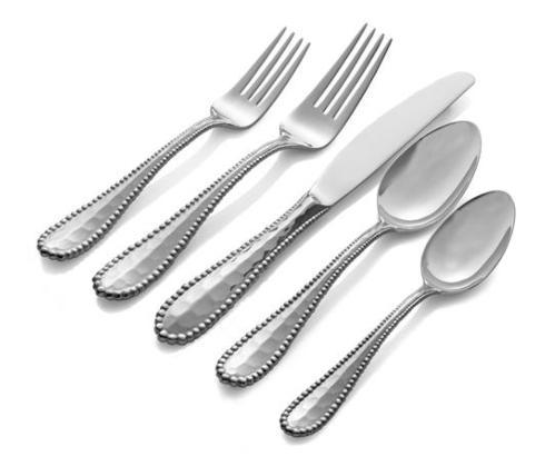 $80.00  5-Piece Flatware Set