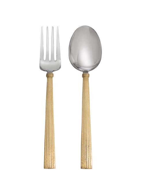 $75.00 Gold Serving Set