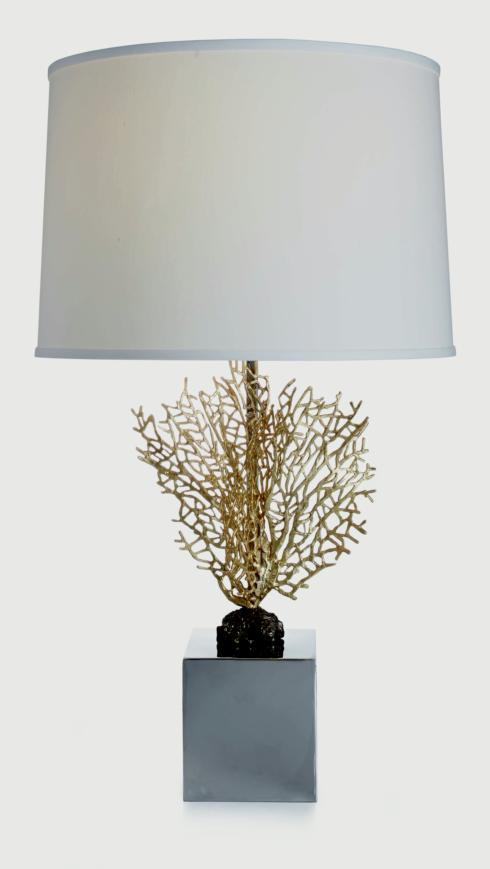 $950.00 Fan Coral Table Lamp
