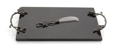 Michael Aram  Black Orchid Large Cheeseboard With Knife $200.00
