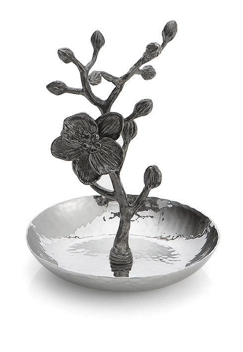 Michael Aram  Black Orchid Ring Catch $70.00