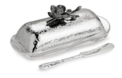 Michael Aram  Black Orchid Butter Dish With Knife $90.00
