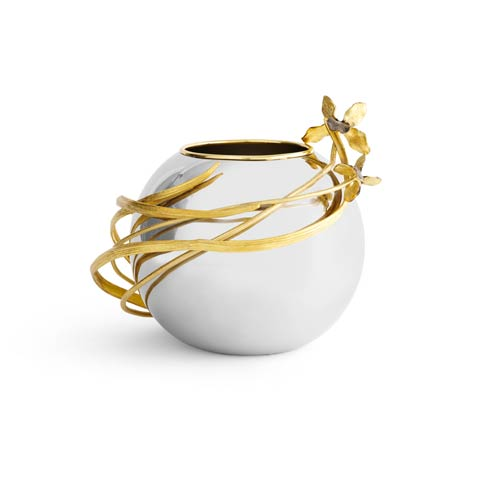 Michael Aram  Black Iris Rose Bowl Vase $350.00