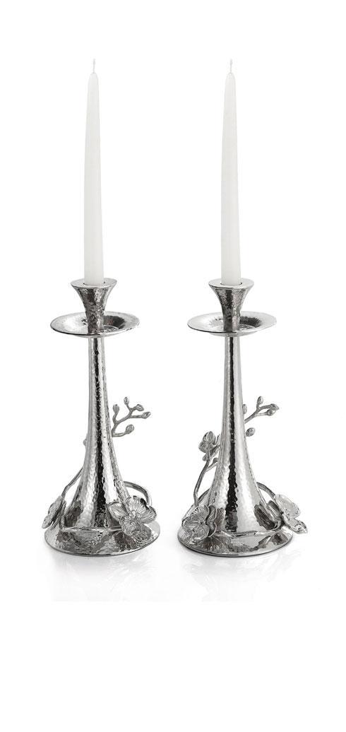 Michael Aram  White Orchid Candleholders $250.00