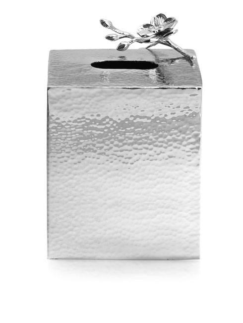Michael Aram  White Orchid Tissue Box Holder $175.00
