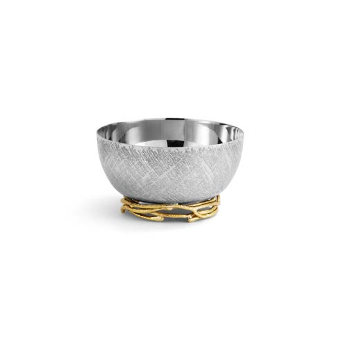$100.00 Gold Nut Dish