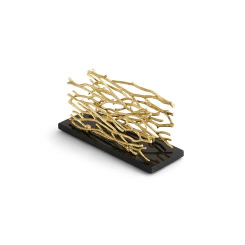 $115.00 Gold Vertical Napkin Holder