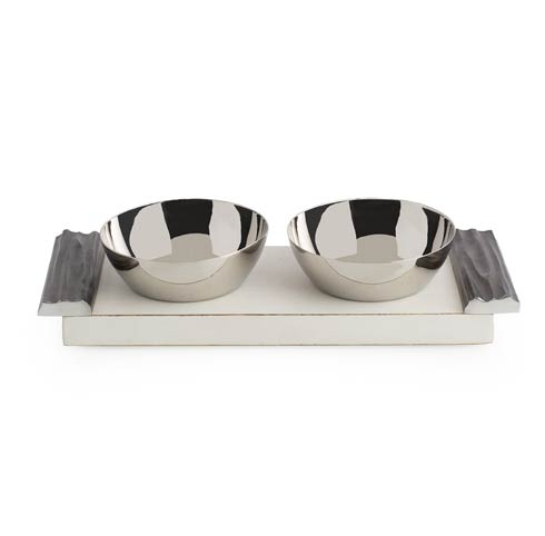 $120.00 Double Bowl Set