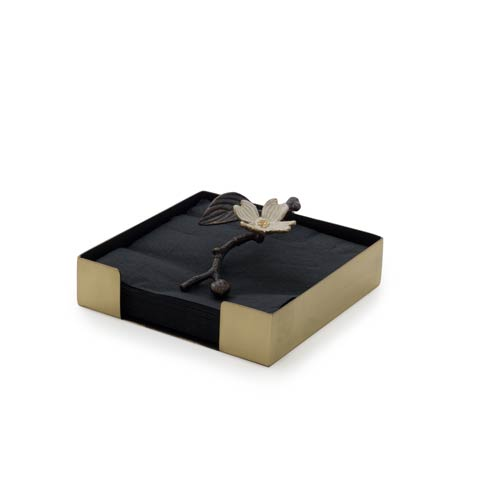 Michael Aram  Dogwood Cocktail Napkin Box $65.00