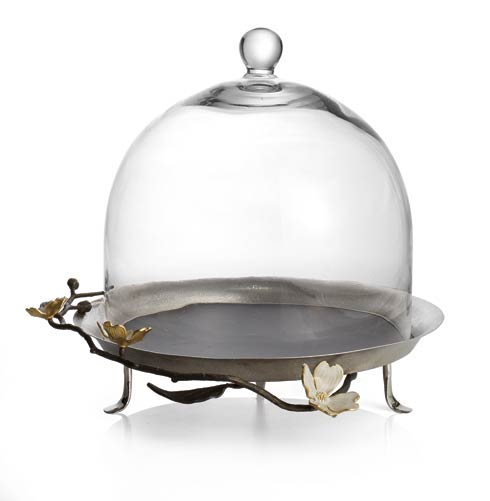Michael Aram  Dogwood Pastry Dome $295.00