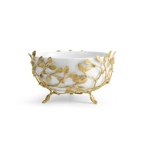 Michael Aram  Mistletoe Porcelain Serving Bowl $350.00