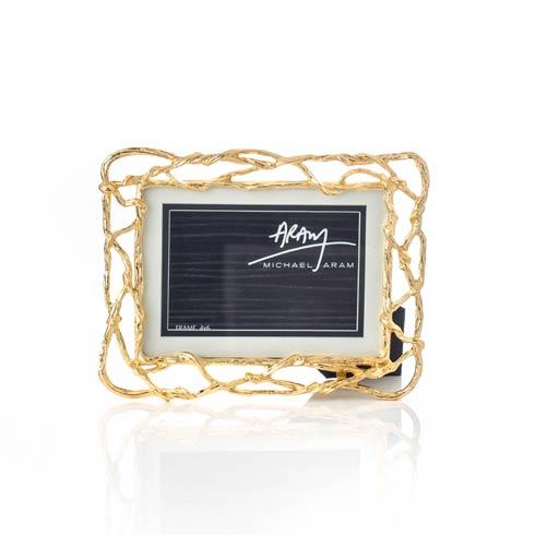 Michael Aram  Wisteria Gold 4 x 6 / 5 x 7 Frame $125.00