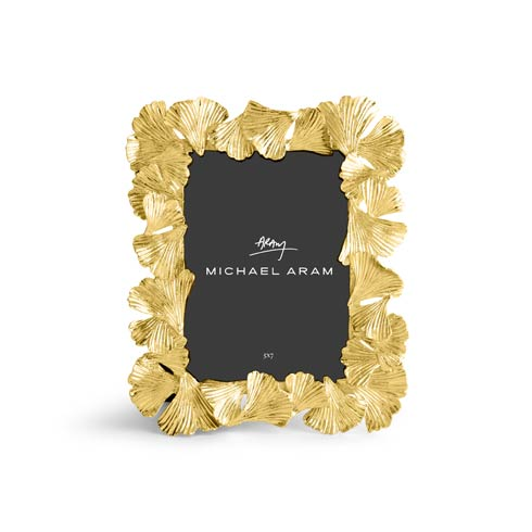 Michael Aram  Golden Ginkgo Frame 5 x 7 $125.00