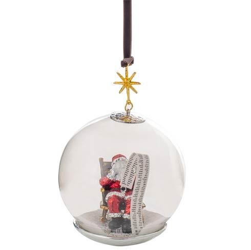 $85.00 Santa Snow Globe