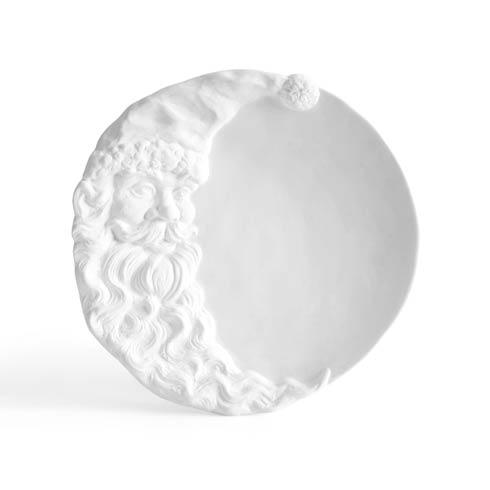 $65.00 Santa Moon Plate