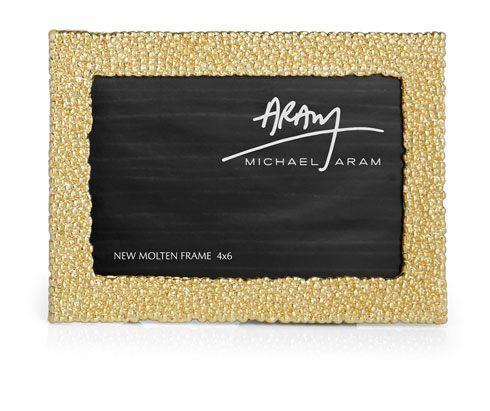 Michael Aram  Molten Gold Frame 4x6 $95.00