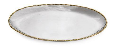 Michael Aram  Molten Gold Large Oval Platter $300.00
