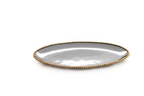 Michael Aram  Molten Gold Long Oval Platter $135.00